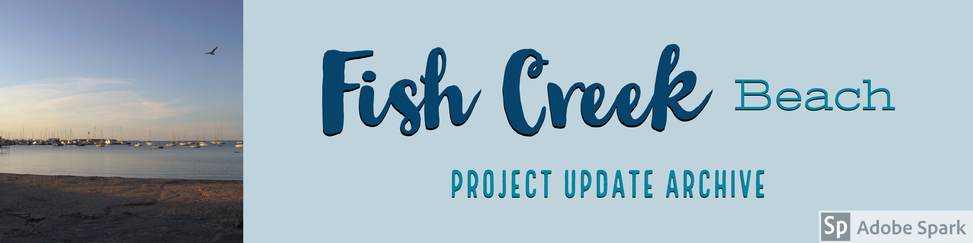 Fish Creek Beach Archive Banner