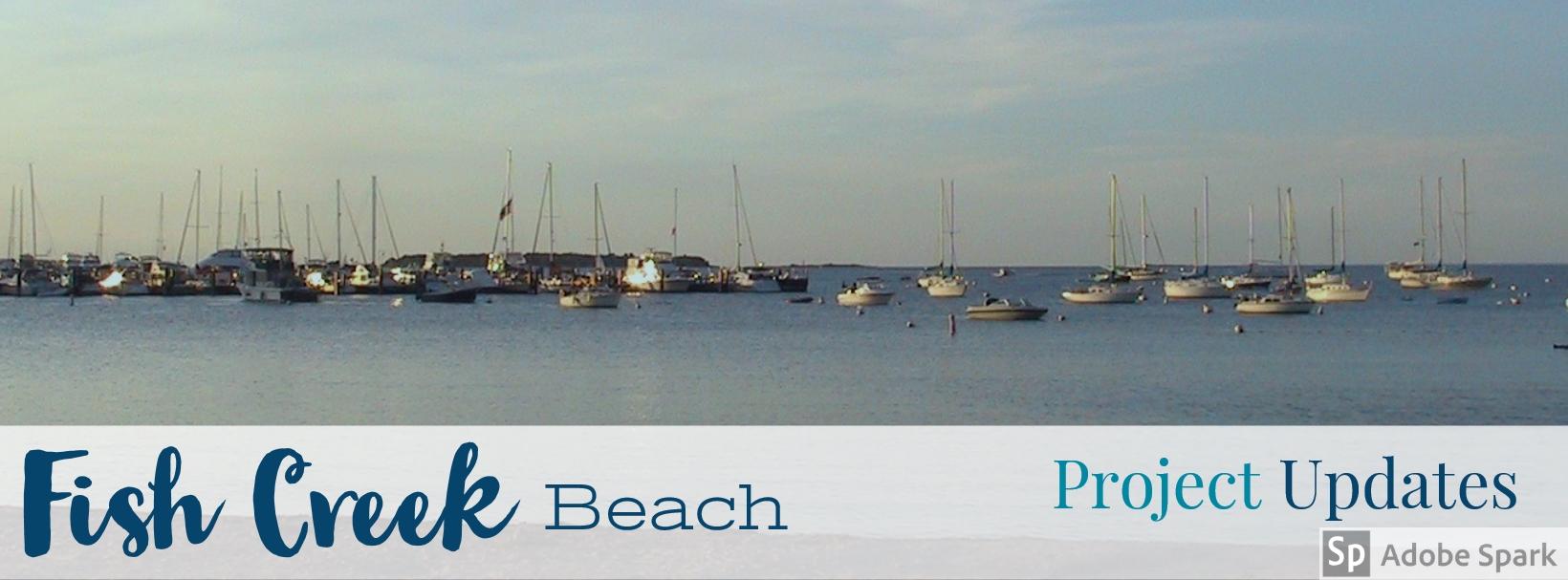 Fish Creek Beach Banner