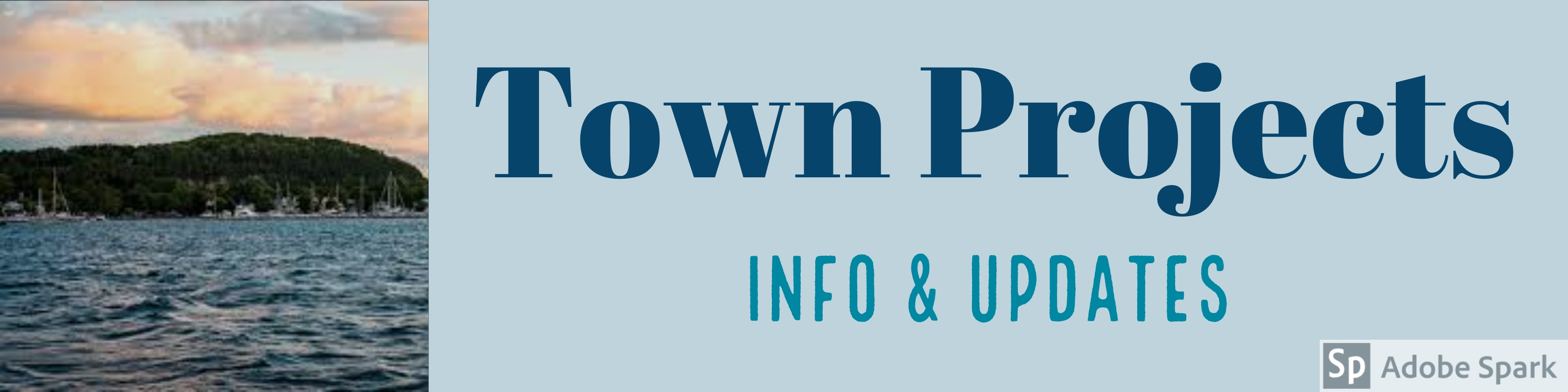 Town Projects banner